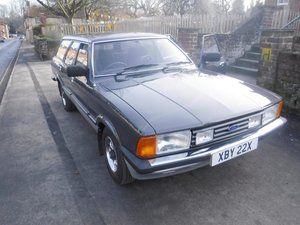 1982 Ford Cortina Carousel Auto SOLD by Auction