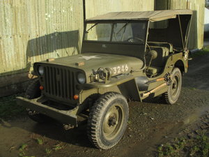 1945 willys ford jeep