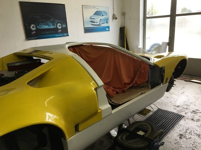 1977 Unfinished GT40 SOLD (picture 3 of 6)