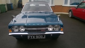 1971 Cortina MK 3 1600 GXL Pacific blue J reg For Sale