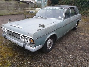 1970 Ford Zodiac Mk4 E D Abbott 'Farnham' Estate - barn find For Sale