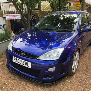 2003 Ford Focus 2.0T RS
