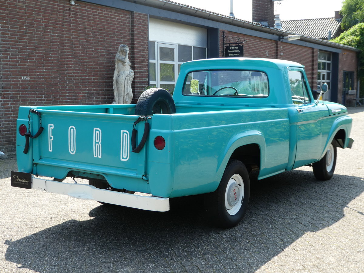 1962 Ford F100 Pick up For Sale (picture 3 of 6)