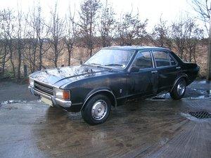 1974 Ford Granada Consul L 2.5 Resto Project Historic For Sale