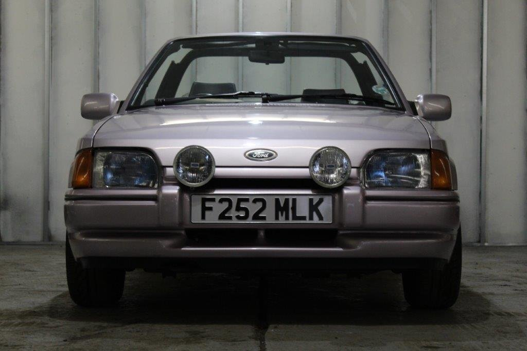 1989 Ford Escort XR3i Cabriolet Special Edition For Sale (picture 1 of 6)