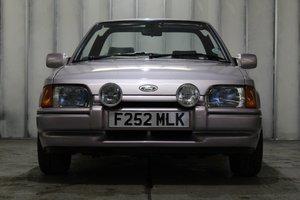1989 Ford Escort XR3i Cabriolet Special Edition