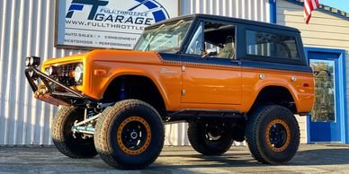1973 Ford Bronco 4WD SUV All Custom Mods Lifted coming soon