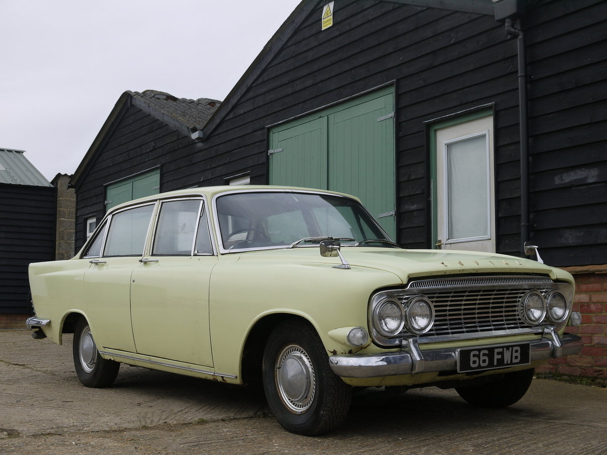 1963 FORD ZODIAC MK3 PROJECT - RARE MODEL VALUABLE REGISTRATION!! SOLD (picture 1 of 6)