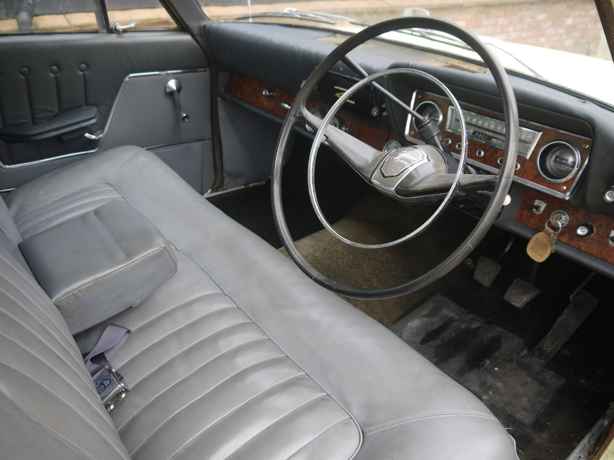 1963 FORD ZODIAC MK3 PROJECT - RARE MODEL VALUABLE REGISTRATION!! SOLD (picture 5 of 6)