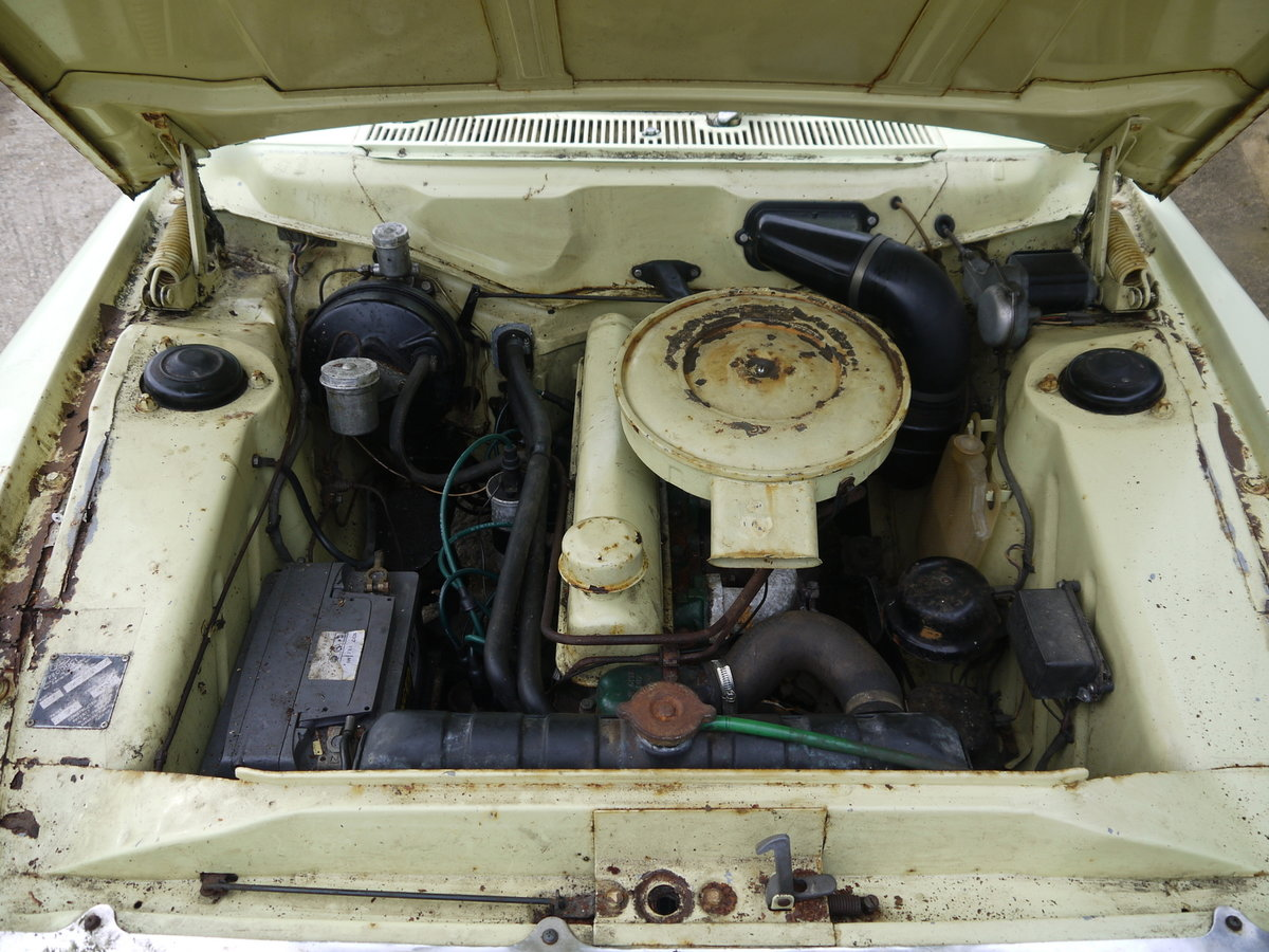 1963 FORD ZODIAC MK3 PROJECT - RARE MODEL VALUABLE REGISTRATION!! SOLD (picture 6 of 6)