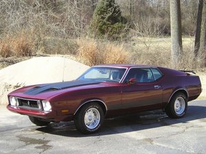 1973 Ford Mustang MACH 1 351 H Code Auto AC PS $18.9k