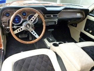 1968 Mustang Longhorn Shelby Custom Mods FI 5.0 Auto $45k For Sale (picture 4 of 6)