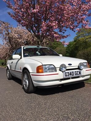 Ford Escort XR3i one lady owner from new