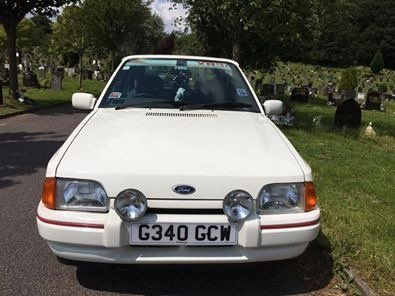 1989 Ford Escort XR3i one lady owner from new For Sale (picture 4 of 6)