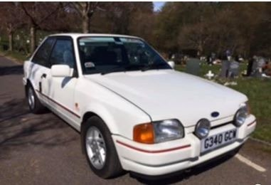 1989 Ford Escort XR3i one lady owner from new For Sale (picture 5 of 6)