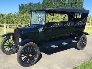 1921 Model TT 6 door tourer.