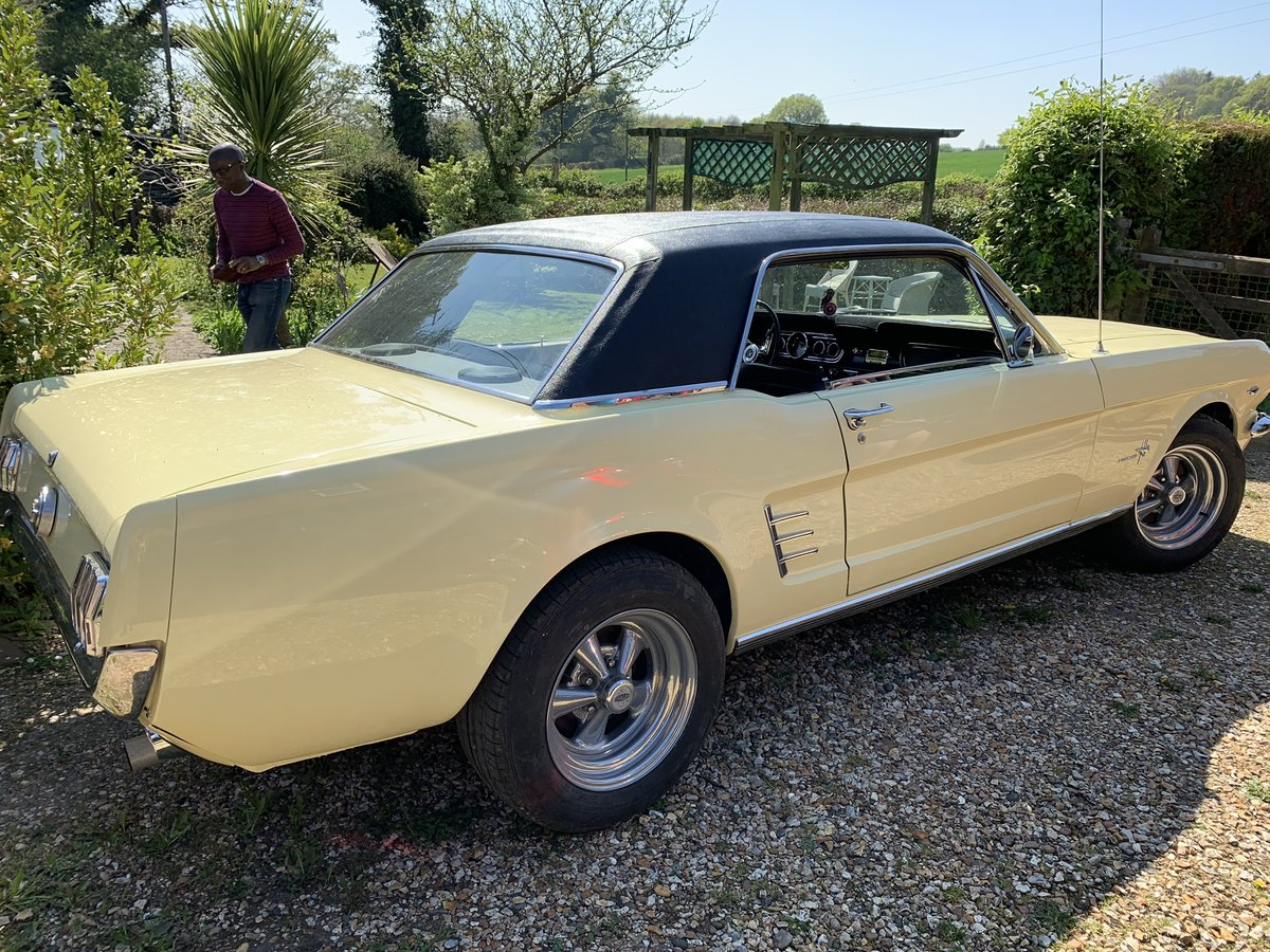 1966 FORD Mustang Coupe Springtime Yellow V8  For Sale (picture 6 of 6)
