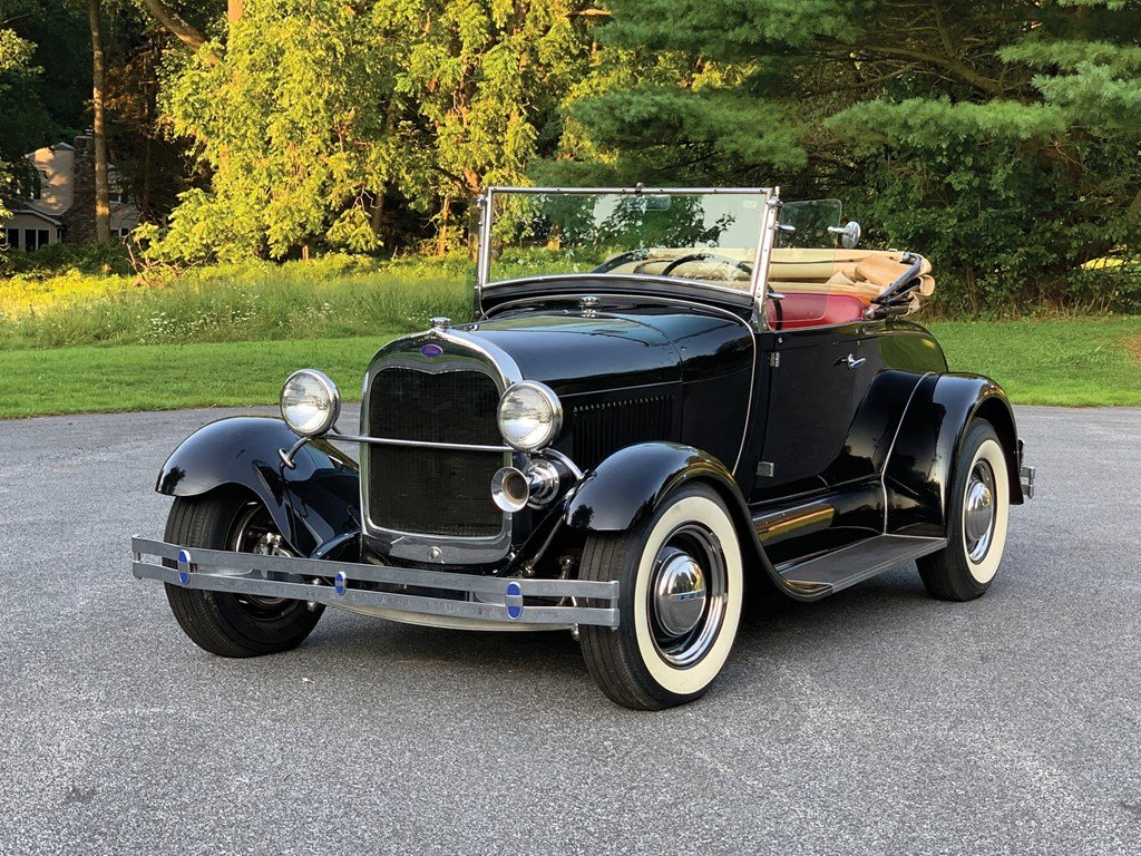 1929 Ford Model A Roadster Custom  For Sale by Auction (picture 1 of 6)