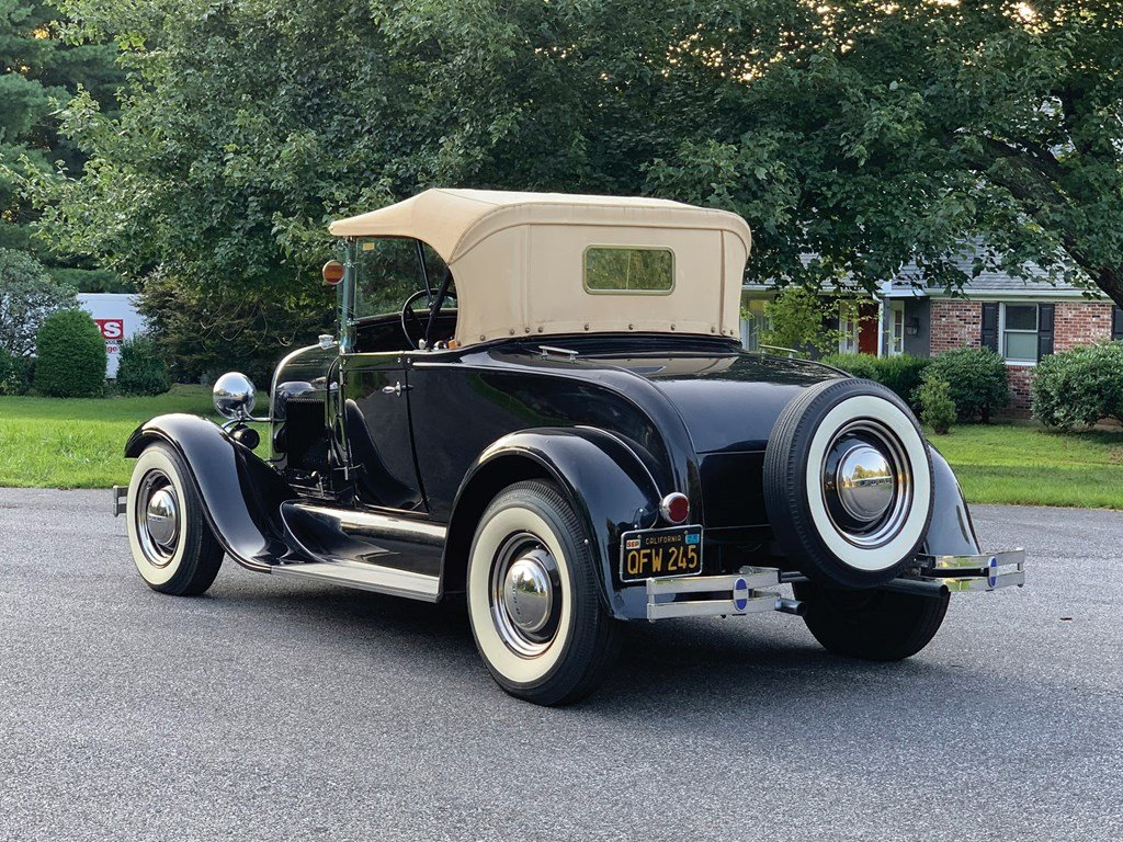 1929 Ford Model A Roadster Custom  For Sale by Auction (picture 2 of 6)