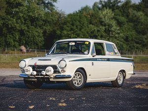 1967 Ford Cortina Lotus Mk 1 Saloon  For Sale by Auction