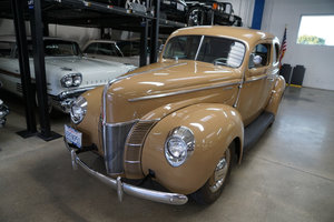 1940 Ford Deluxe 2 Door 238 V8 Sedan  SOLD