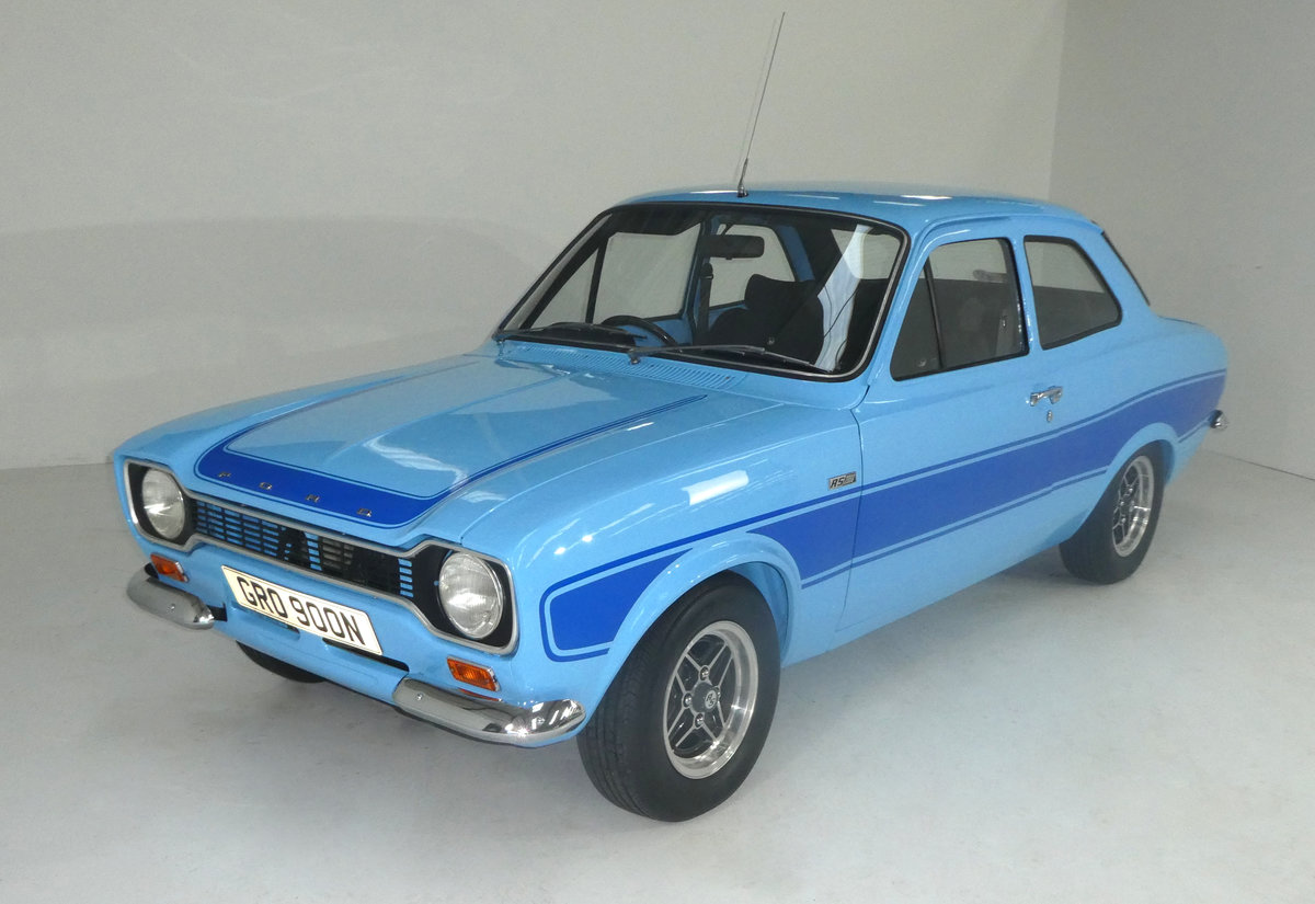 1974 FORD ESCORT MK1  RS2000 FROM A MOTORING ICONS COLLECTION For Sale (picture 1 of 6)
