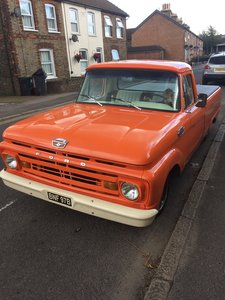 1964 Ford F100 Pick Up in Excellent Condition