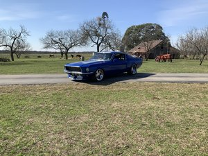 Picture of 1967 FORD MUSTANG DAYTONA BLUE FASTBACK Roush Block SOLD
