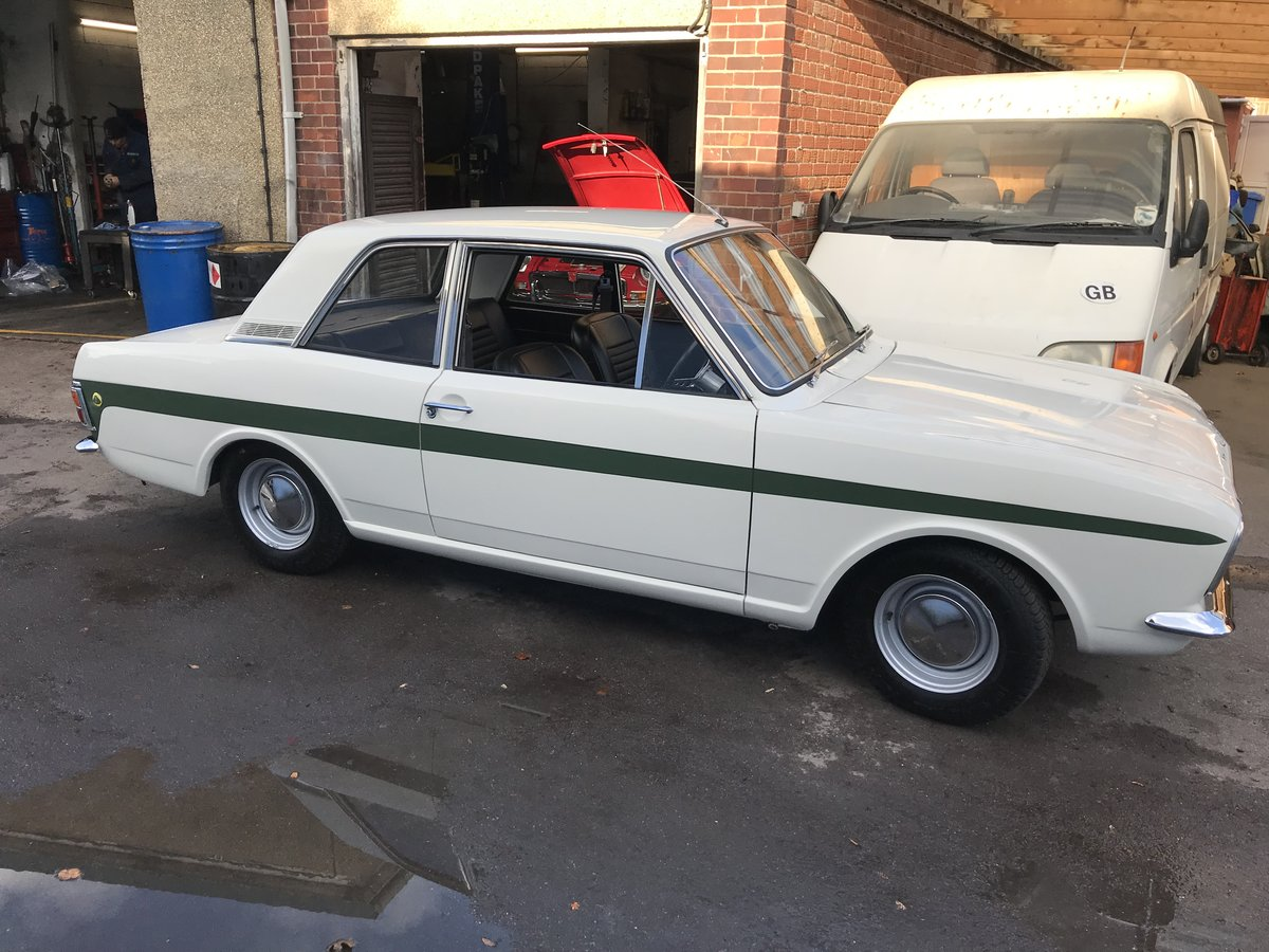 1970 Ford Lotus Cortina MK II For Sale (picture 1 of 3)