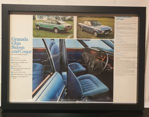 Ford Granada Ghia Advert Original