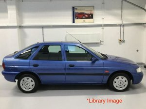 1999 Stunning Ford Escort MkVI Limited Edition With Low Miles SOLD