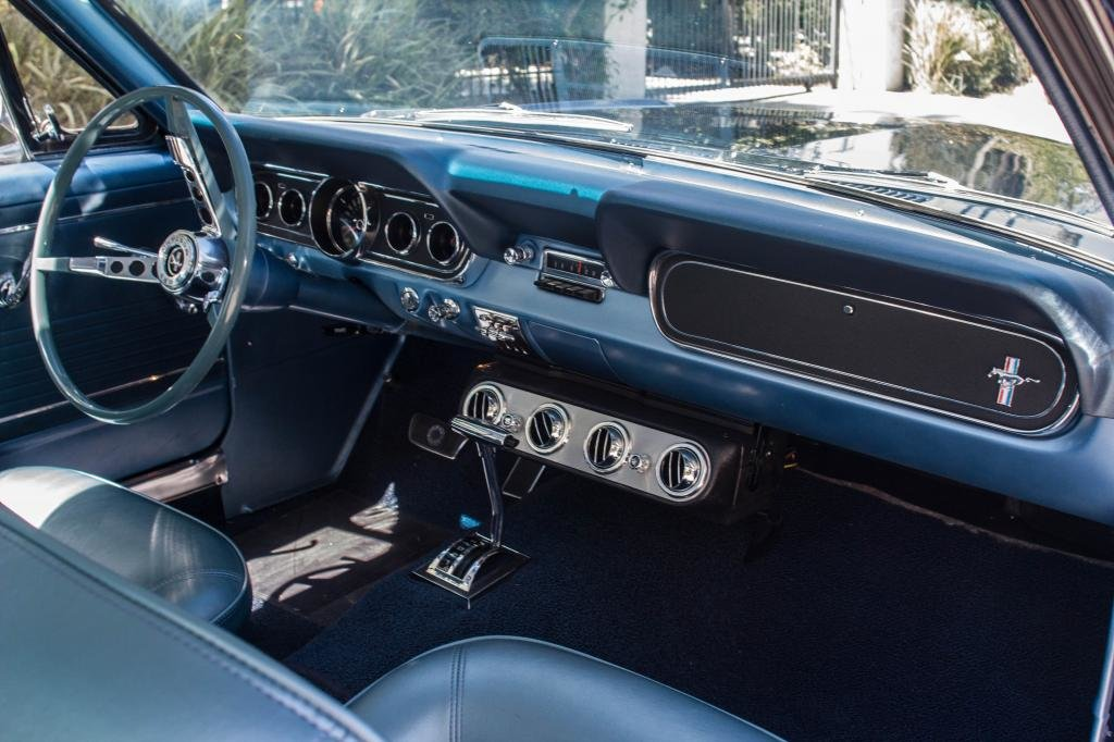 1966 Ford mustang V8 289. Nightmist blue. For Sale (picture 6 of 6)