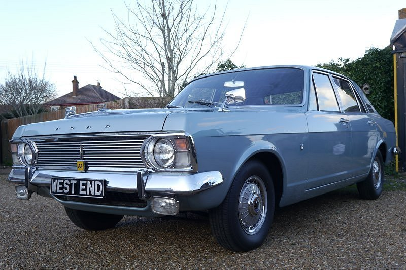 Ford Zephyr Mk 4 V6 De Luxe G Reg 1969 Manual For Sale (picture 1 of 6)