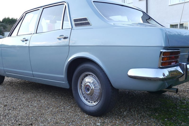 Ford Zephyr Mk 4 V6 De Luxe G Reg 1969 Manual For Sale (picture 6 of 6)