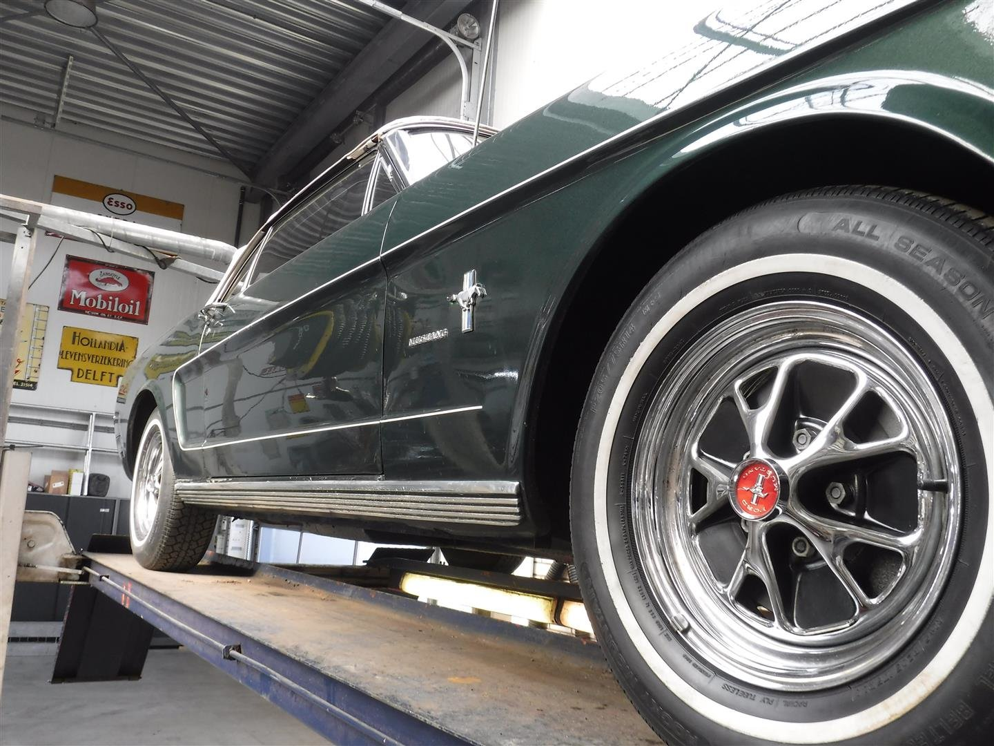 Ford Mustang convertible 1966 (nice one!!) For Sale (picture 3 of 6)