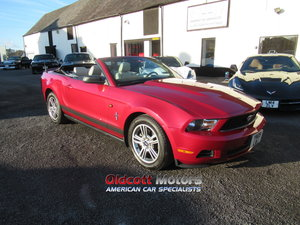 2010 Ford Mustang Convertible auto premium 4.0 litre