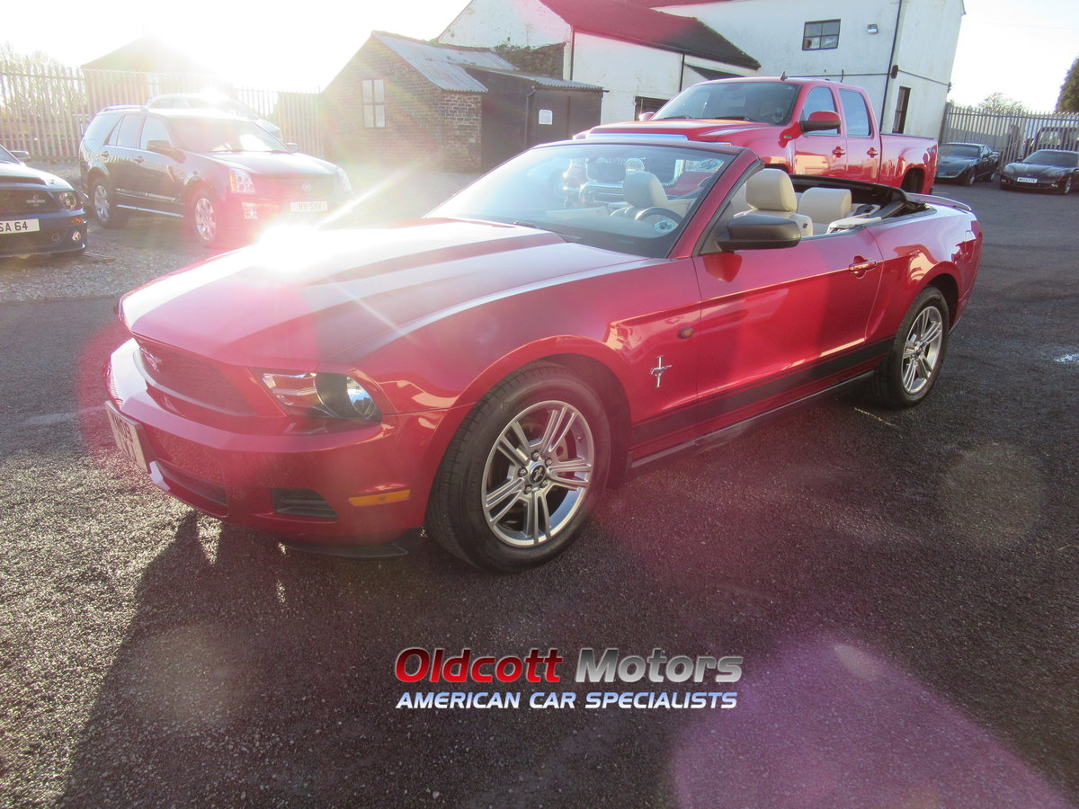 2010 Ford Mustang Convertible auto premium 4.0 litre For Sale (picture 6 of 6)
