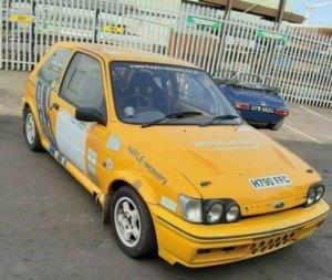 1990 ford fiesta xr2 hill climb car