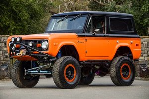 1973 Ford Bronco 4WD SUV All Custom Mods Lifted 1 Off $65k For Sale