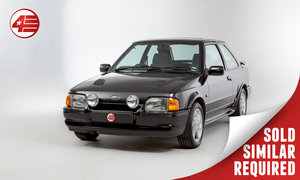 1991 Ford Escort RS Turbo /// 1 Owner /// 12k Miles! SOLD