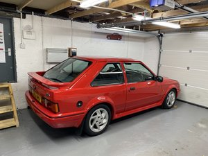 1987 Escort Rs turbo very early s2 concourse