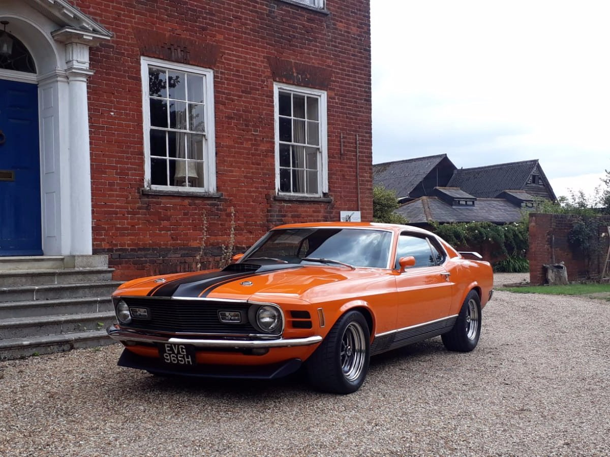 Mustang Mach 1, 351ci V8, 1970 For Sale (picture 1 of 24)