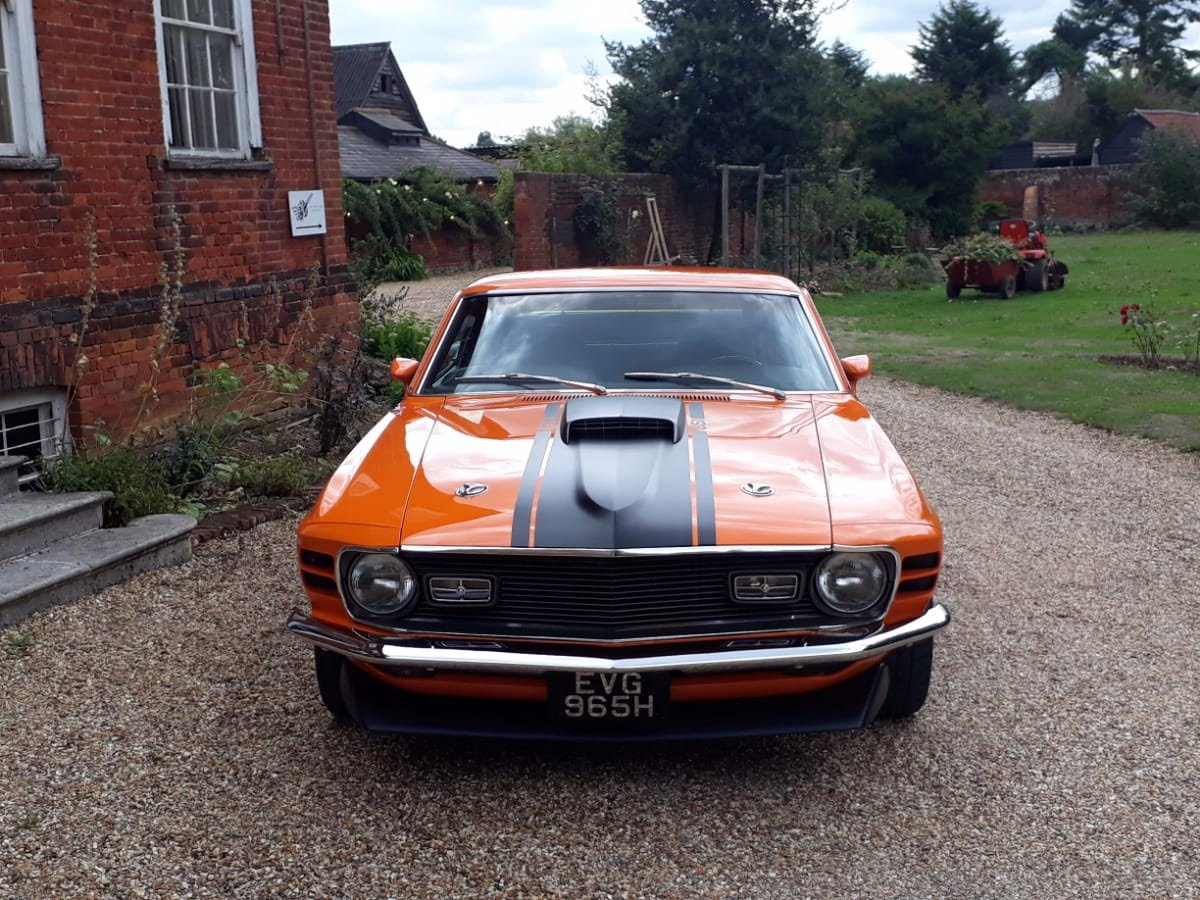 Mustang Mach 1, 351ci V8, 1970 For Sale (picture 2 of 24)