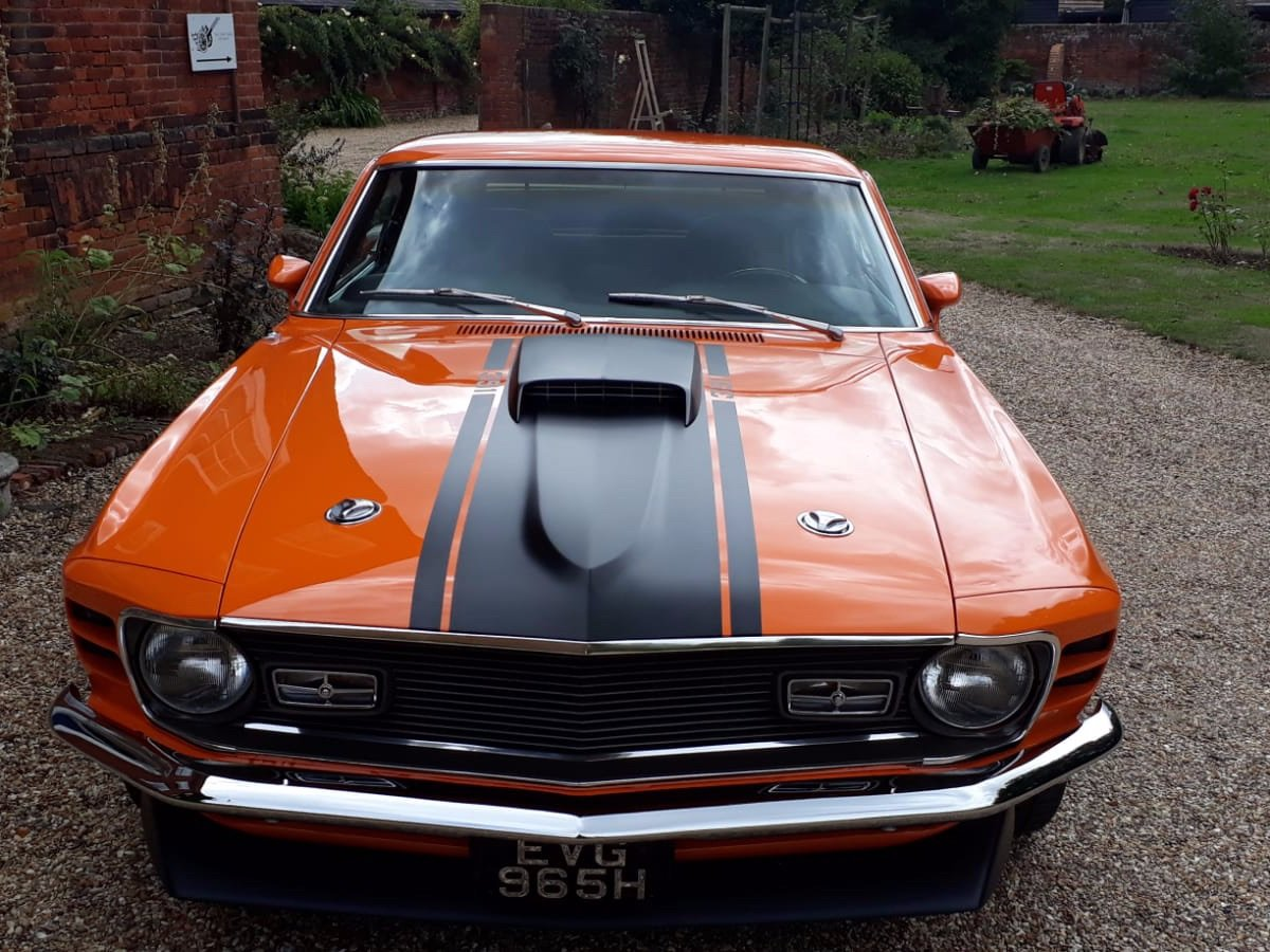 Mustang Mach 1, 351ci V8, 1970 For Sale (picture 4 of 24)