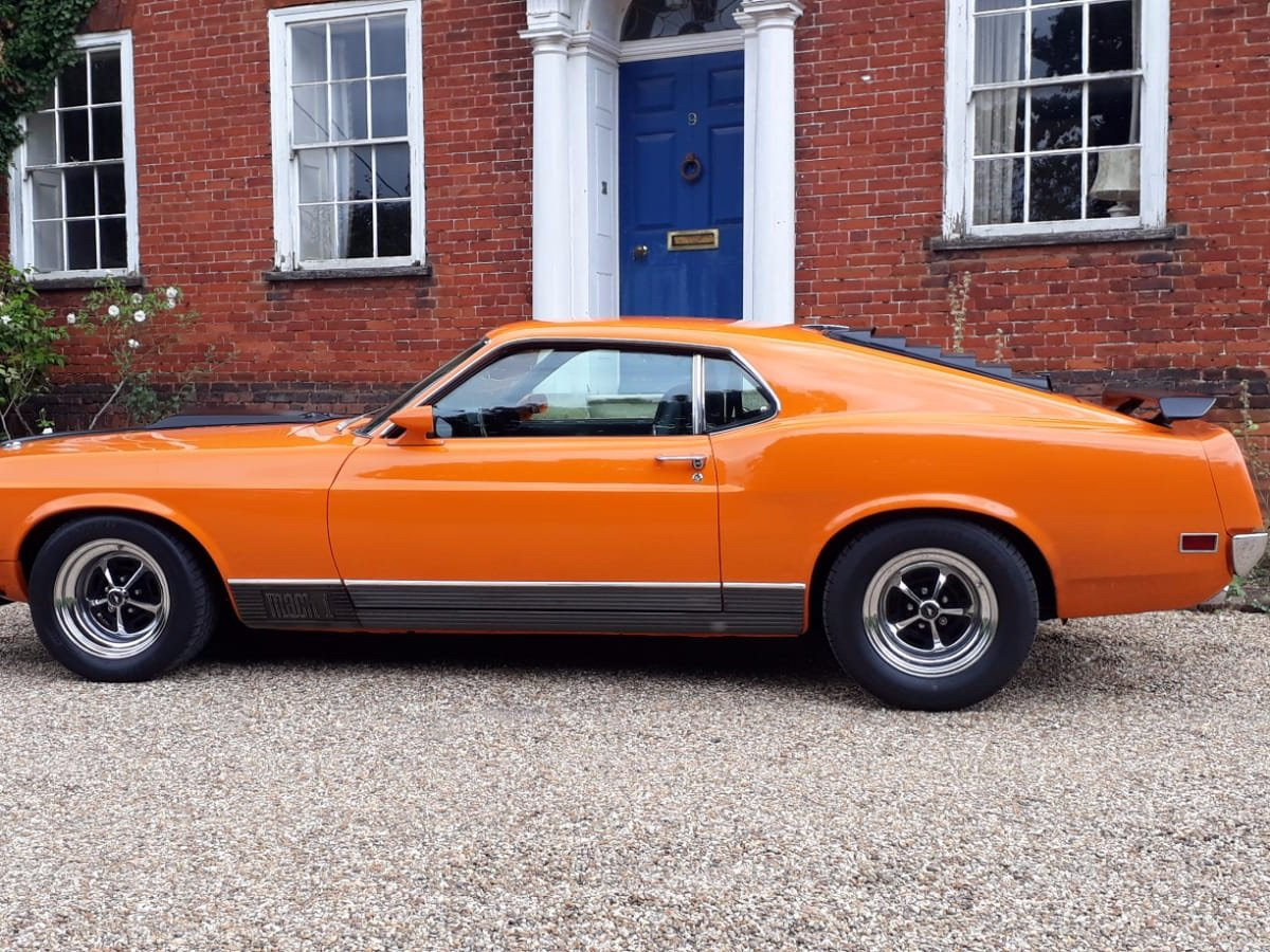 Mustang Mach 1, 351ci V8, 1970 For Sale (picture 6 of 24)