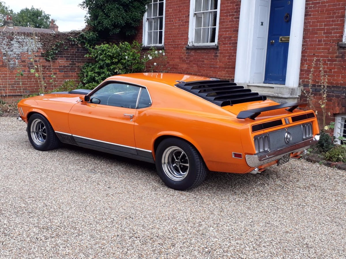Mustang Mach 1, 351ci V8, 1970 For Sale (picture 7 of 24)