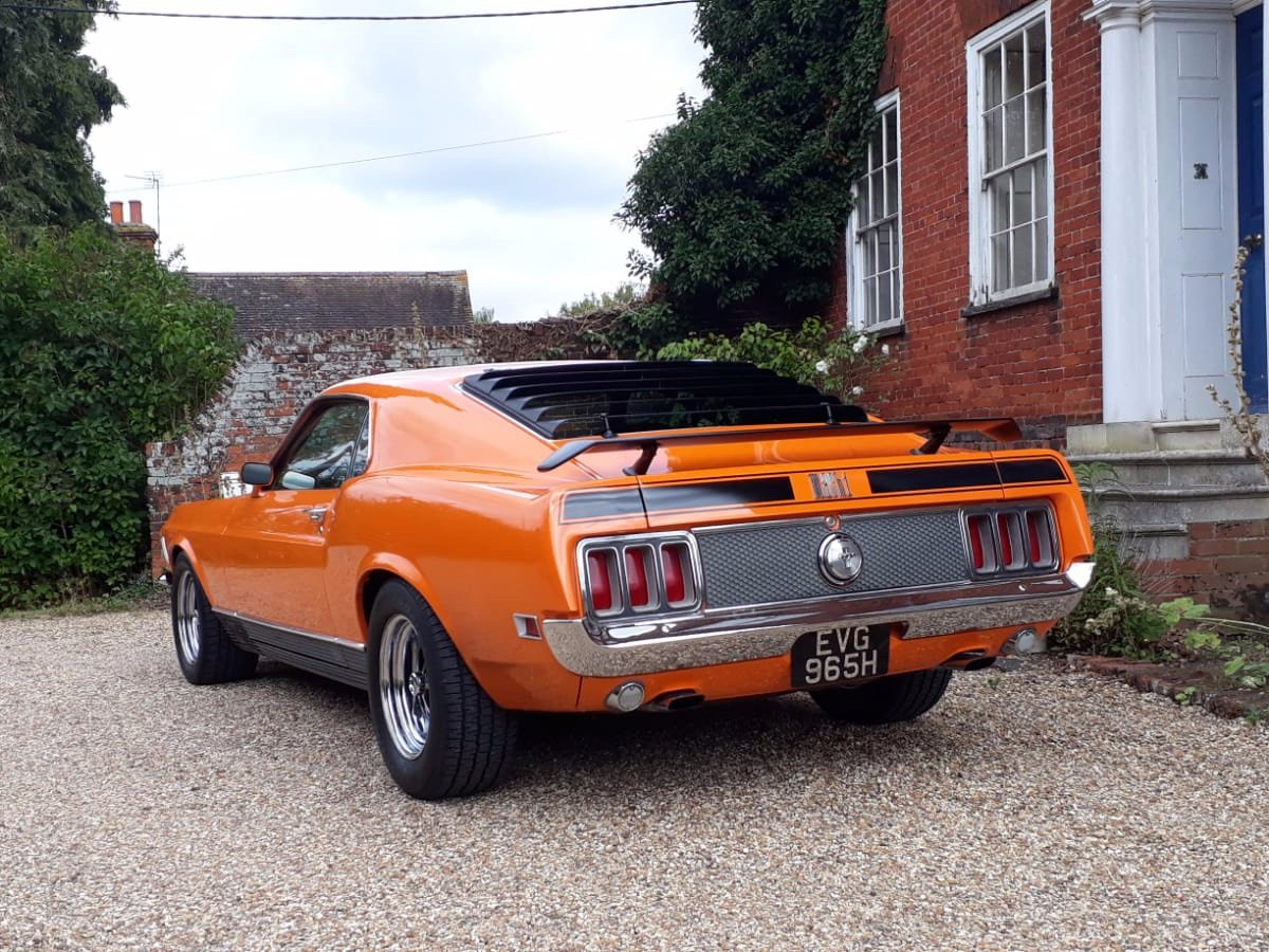 Mustang Mach 1, 351ci V8, 1970 For Sale (picture 8 of 24)
