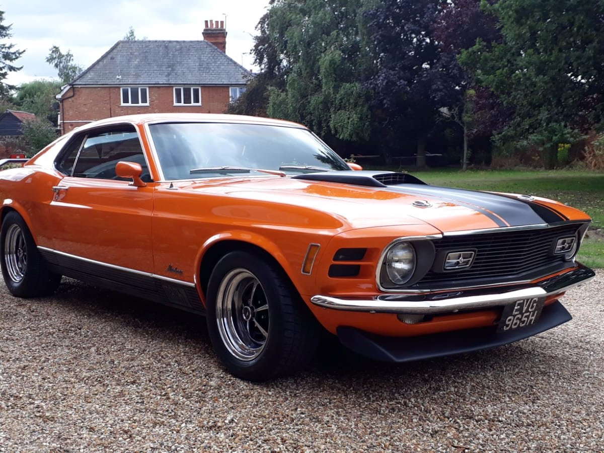 Mustang Mach 1, 351ci V8, 1970 For Sale (picture 23 of 24)