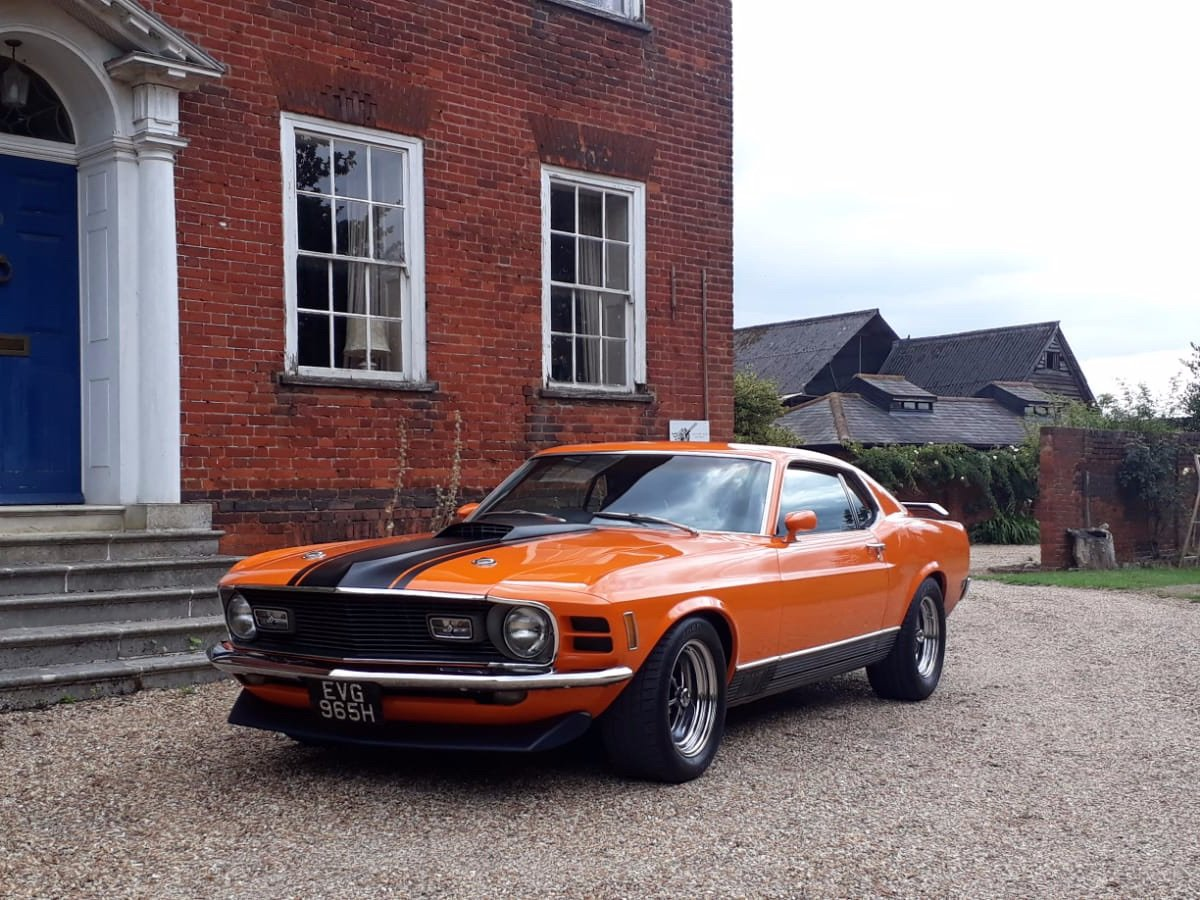 Mustang Mach 1, 351ci V8, 1970 For Sale (picture 24 of 24)