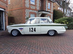 Ford lotus cortina mk1 fia historic race car
